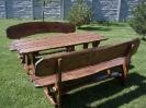 Lauko terasos baldai
